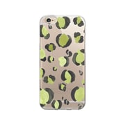 OTM  Prints Clear Phone Case, Spotted Chartreuse, iPhone 7/7S (OP-IP7V1CG-A-01)