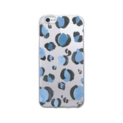 OTM Essentials Artist Prints Clear Phone Case for Use with iPhone 6/6S, Spotted Indigo (IP6V1CLR-ART-04)