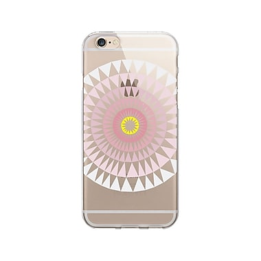 OTM Essentials Artist Prints Clear Phone Case for Use with iPhone 6/6S, Sun Print Rose (OP-IP6V1CLR-ART01-28)