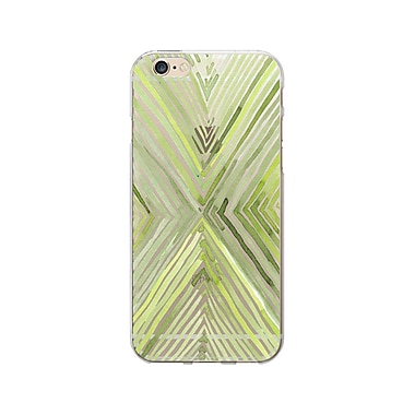 OTM Essentials Artist Prints Phone Case for Use with iPhone 6/6S Plus, X Grass, Clear (OP-IP6PV1CLR-ART01-0)