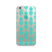 OTM Essentials POP Prints Clear Case for Use with iPhone 5/5S, Pineapple Lane (IP5V1CLR-POP-05)