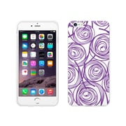 OTM Essentials Classic Prints White Phone Case for Use with iPhone 6 Plus, New Age Swirls of Amethyst (IP6PWG-AGE-02V4)