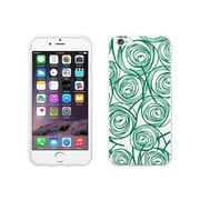 OTM Essentials Classic Prints White Phone Case for Use with iPhone 6/6S, New Age Swirls of Jade (IP6WG-AGE-02V2)