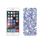 OTM Essentials Classic Prints Phone Case for Use with iPhone 6/6S, New Age Swirls of Sapphire, White (IP6WG-AGE-02V3)