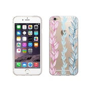 OTM Essentials Floral Prints Clear Phone Case for Use with iPhone 6/6S, Seaweed (IP6V1CLR-FLR-06)