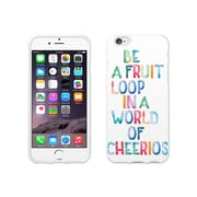 OTM Essentials Quotes Prints White Phone Case for Use with iPhone 6/6S, Fruit Loop (IP6V1WG-QTE-03)
