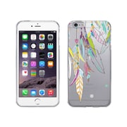 OTM Essentials Hipster Prints Clear Phone Case for Use with iPhone 6 Plus, Dream Catcher Color (IP6PV1CLR-HIP-09)