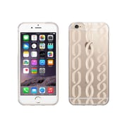 OTM Essentials Hipster Prints Phone Case for Use with iPhone 6 Plus, Links Champagne, Clear (IP6PV1CLR-HIP-11)