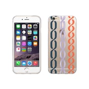 OTM Essentials Hipster Prints Clear Phone Case for Use with iPhone 6 Plus, Links Nautical (IP6PV1CLR-HIP-12)