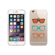 OTM Essentials Hipster Prints Clear Phone Case for Use with iPhone 6 Plus, Shades (IP6PV1CLR-HIP-06)