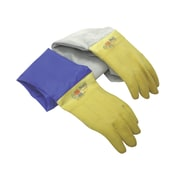 Accessories For Suction & Pressure Cabinets, Cabinet gloves - Leather sleeves, NP768