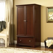 Sauder Palladia Armoire, Select Cherry