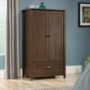 Sauder County Line Armoire, Rum Walnut