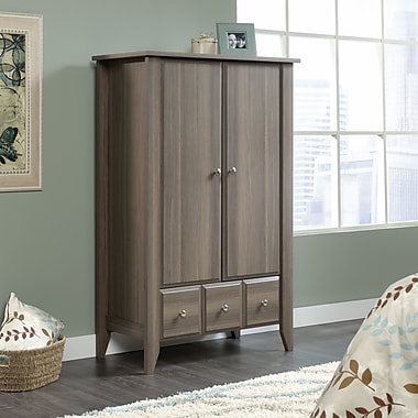 Sauder Shoal Creek Armoire, Diamond Ash