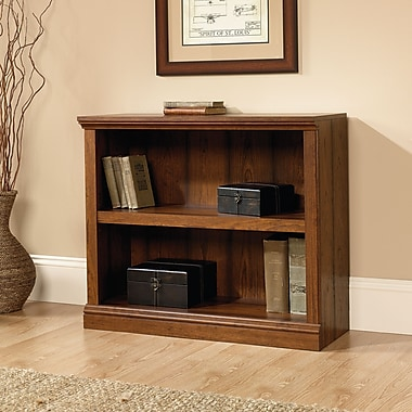 Sauder 2 Shelf Bookcase, Washington Cherry