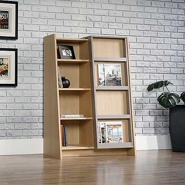 Sauder Affinity Office Display Bookcase, Urban Ash