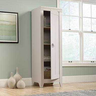 Sauder Adept Storage Narrow Storage Cabinet, Cobblestone