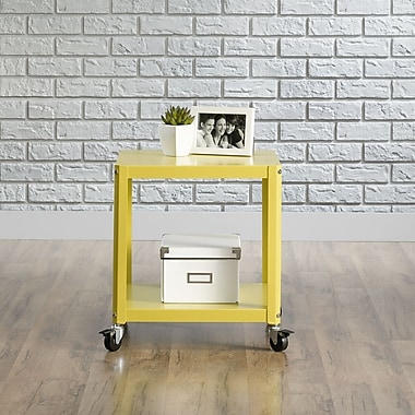 Sauder Square1 Accent Cart, Citron Green