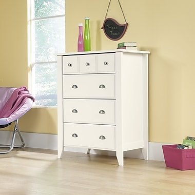 Sauder Shoal Creek 4-Drawer Chest, Soft White
