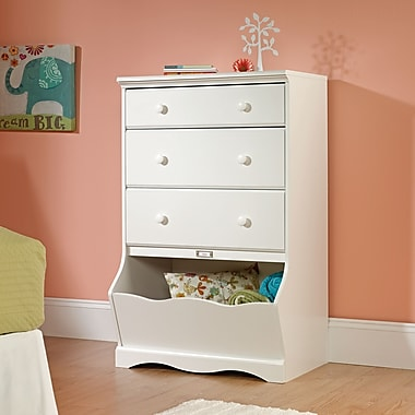 Sauder Pogo 3-Drawer Chest, Soft White