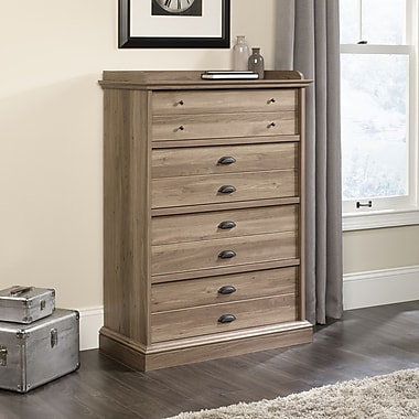 Sauder Barrister Lane 4 Drawer Chest, Salt Oak