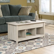 Sauder Edge Water Lift-Top Coffee Table, Chalked Chestnut