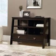 Sauder Trestle Anywhere Console, Jamocha Wood