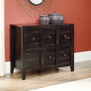 Sauder Dakota Pass Anywhere Console, Char Pine