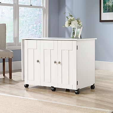 Sauder Sewing/craft Cart, Soft White