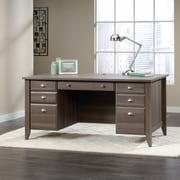 Sauder Shoal Creek Executive Desk, Diamond Ash