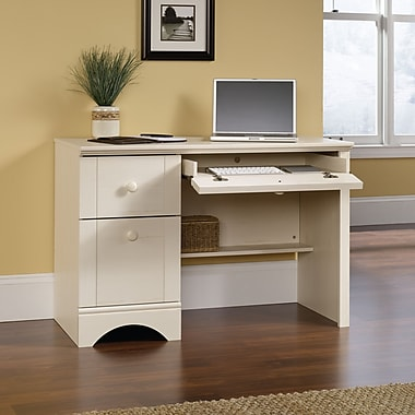 Harbor View – Bureau informatique, blanc antique