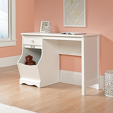 Sauder Pogo Desk, Soft White