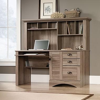 com desk office water sauder executive edge depot