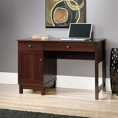 Sauder Kendall Square Desk, Select Cherry