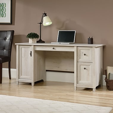 Bureau d'ordinateur Edge Water, fini marron