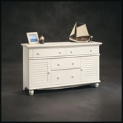 Commode Harbor View, fini blanc antique