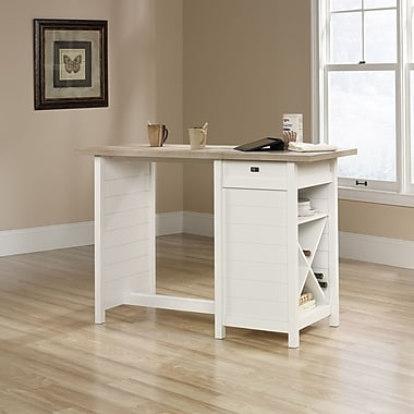 Sauder Cottage Road Work Table, Soft White