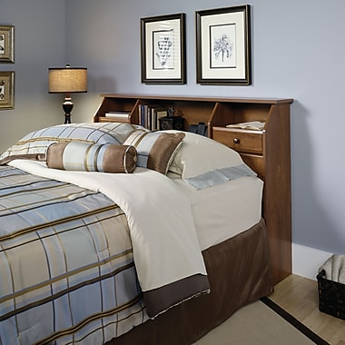 Tête de lit double/grand lit Shoal Creek, chêne huilé