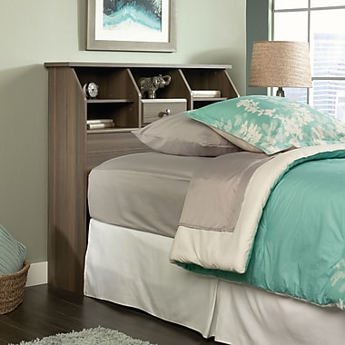 Sauder Shoal Creek Twin Bookcase Headboard, Diamond Ash