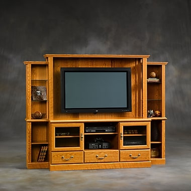 Sauder Orchard Hills Home Theater, Carolina Oak 2 Ctns