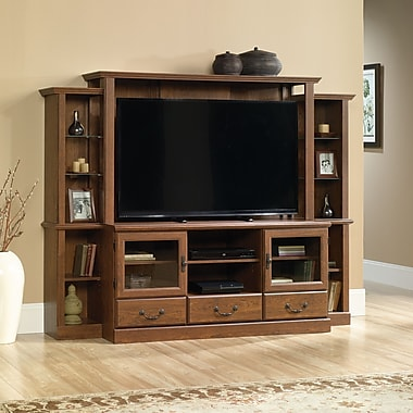 Sauder Orchard Hills Home Theater, Milled Cherry 2 Ctns