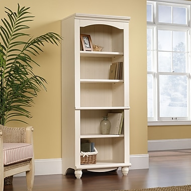 Sauder Harbor View Library, Antiqued White