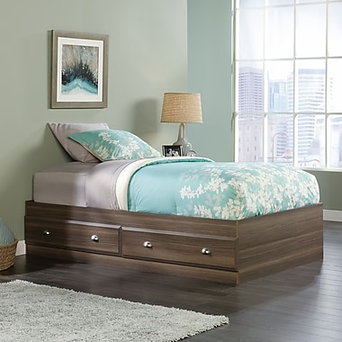 Sauder Shoal Creek Mates Bed, Diamond Ash