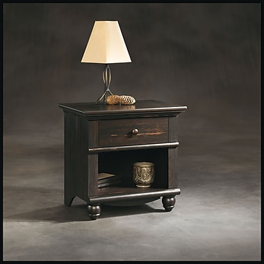 Sauder Harbor View Night Stand, Antiqued Paint