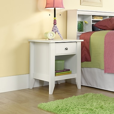 Sauder Shoal Creek Night Stand, Soft White