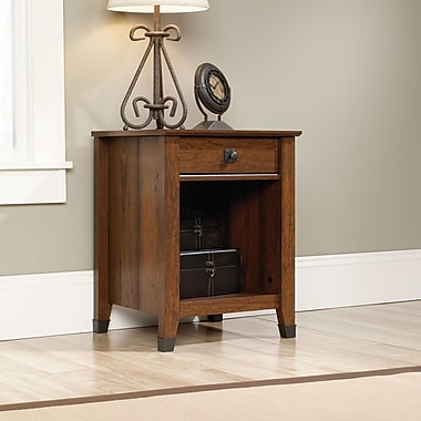 Sauder Carson Forge Night Stand, Washington Cherry