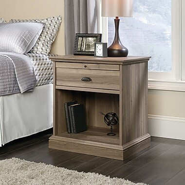 Sauder Barrister Lane Night Stand, Salt Oak
