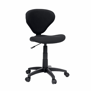 Sauder Beginnings Task Chair, Fabric Black