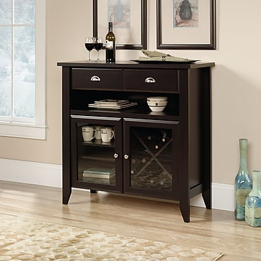 Sauder Shoal Creek Sideboard, Jamocha Wood