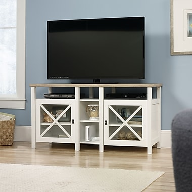 Sauder Cottage Road Entertainment Credenza, Soft White